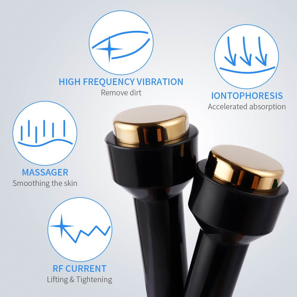 Portable Titanium ultrasonic beauty machine 6