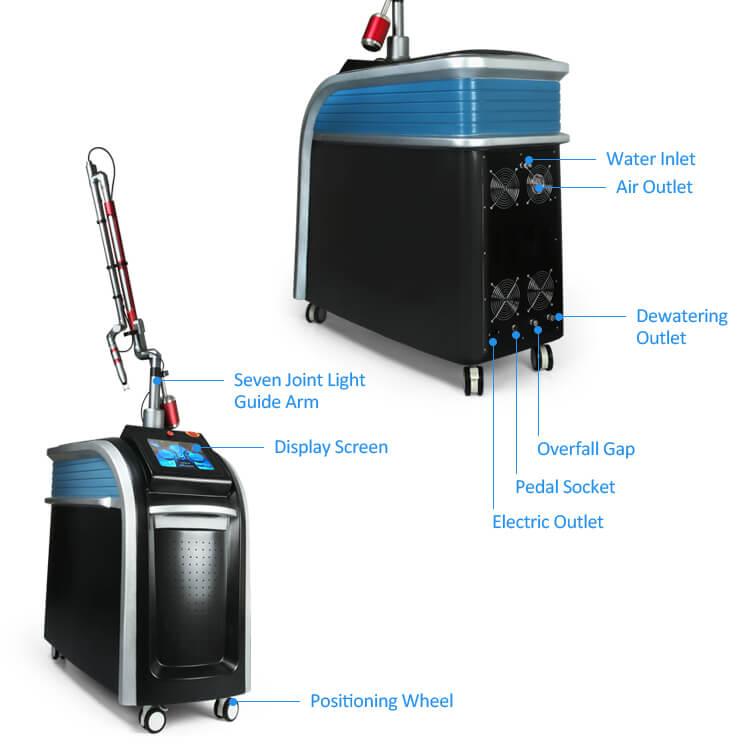 Picosecond Laser Tattoo Removal Machine 3