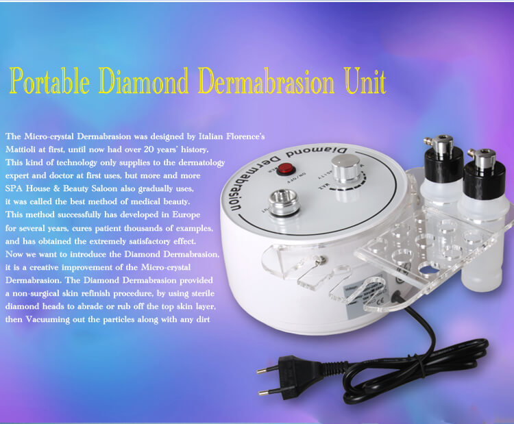 Hydra facial diamond peeling machine 6