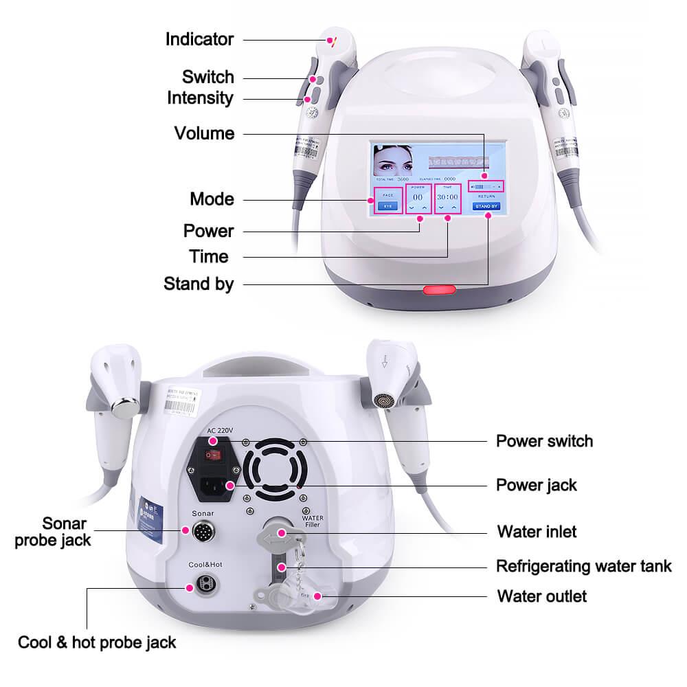 Sonar Magneto Vibration beauty Machine 2