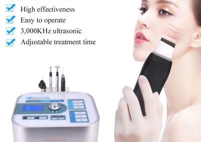 Negative Ion Clean Face Blackhead Remover Machine LB103