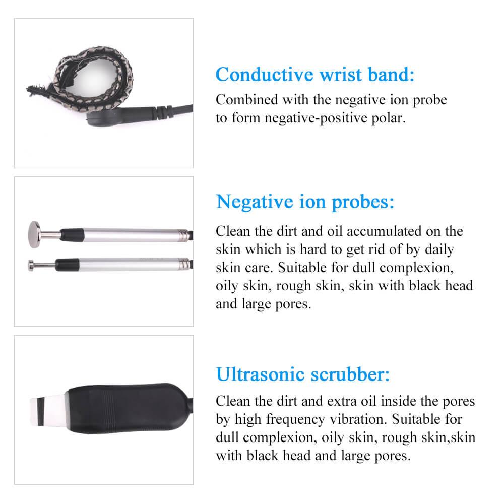 Negative Ion Clean Face Blackhead Remover Machine 4