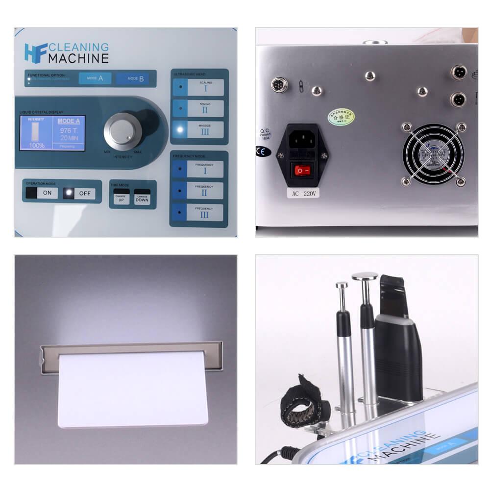 Negative Ion Clean Face Blackhead Remover Machine 5