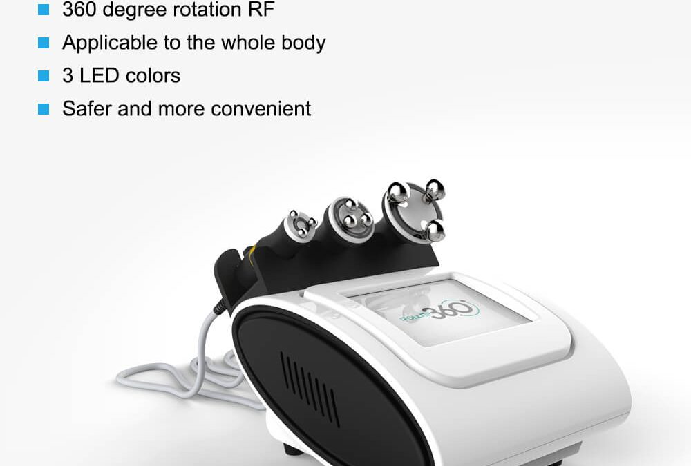 360 Degree Rolling Radio Frequency Slimming Machine JF644