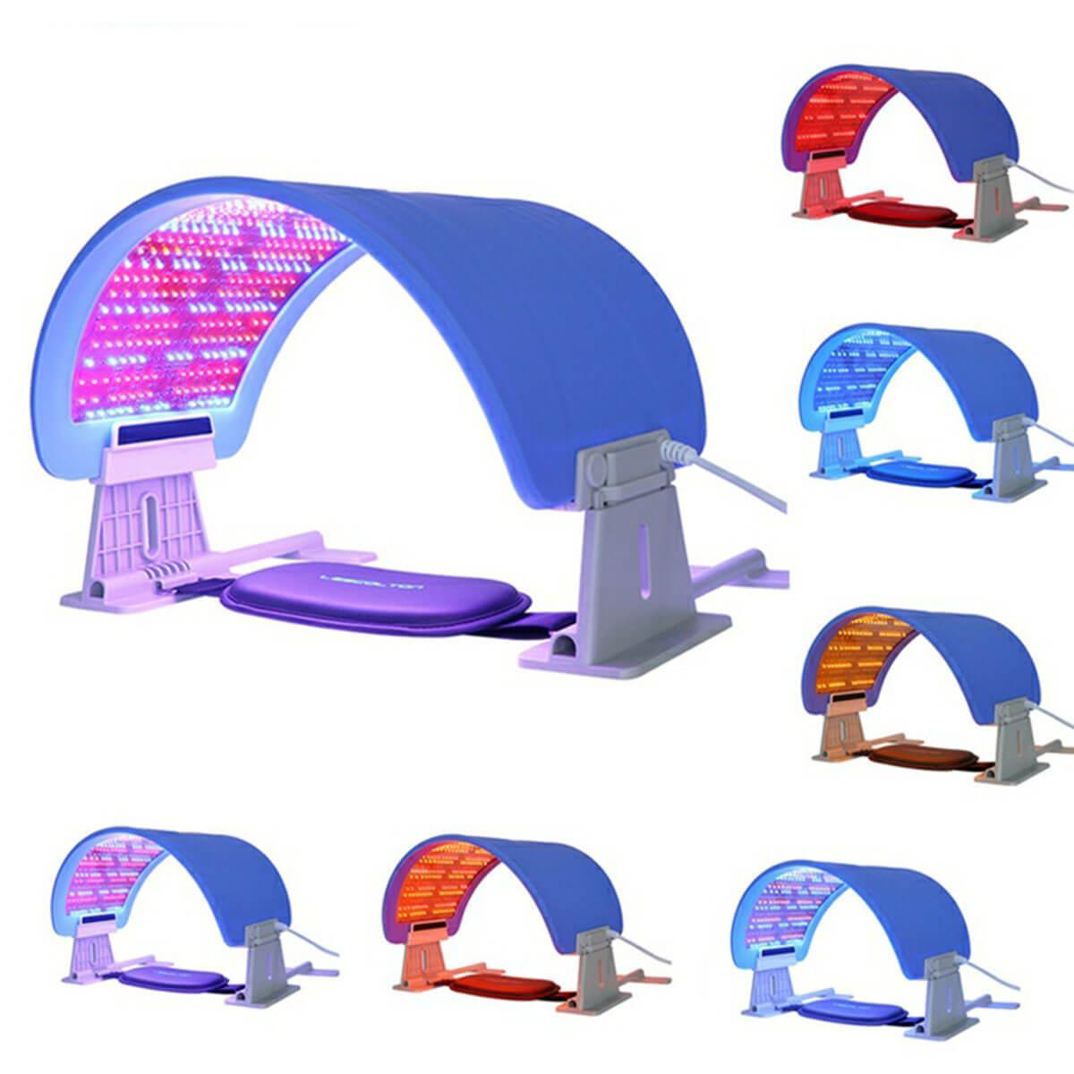 7 color LED light device 14