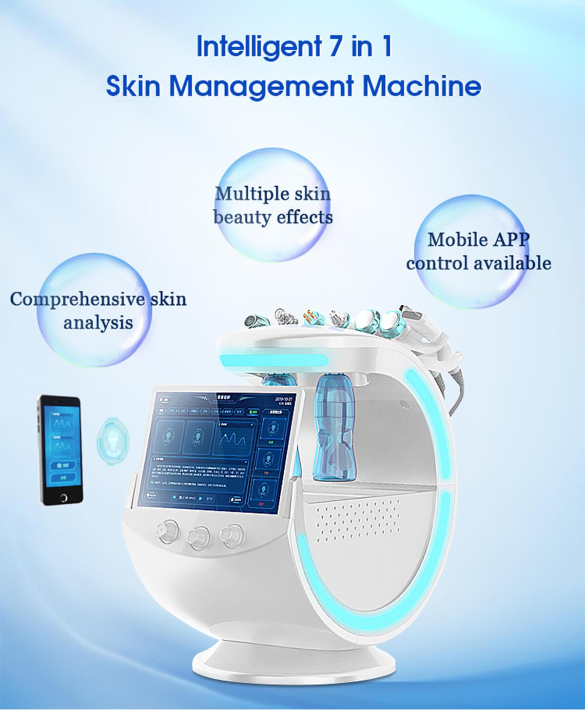 7 in 1 Hydra Smart Skin Analysis machine 7