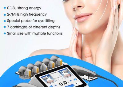 7D Hifu High Focused Intensity Ultrasound Beauty Equipment LB460