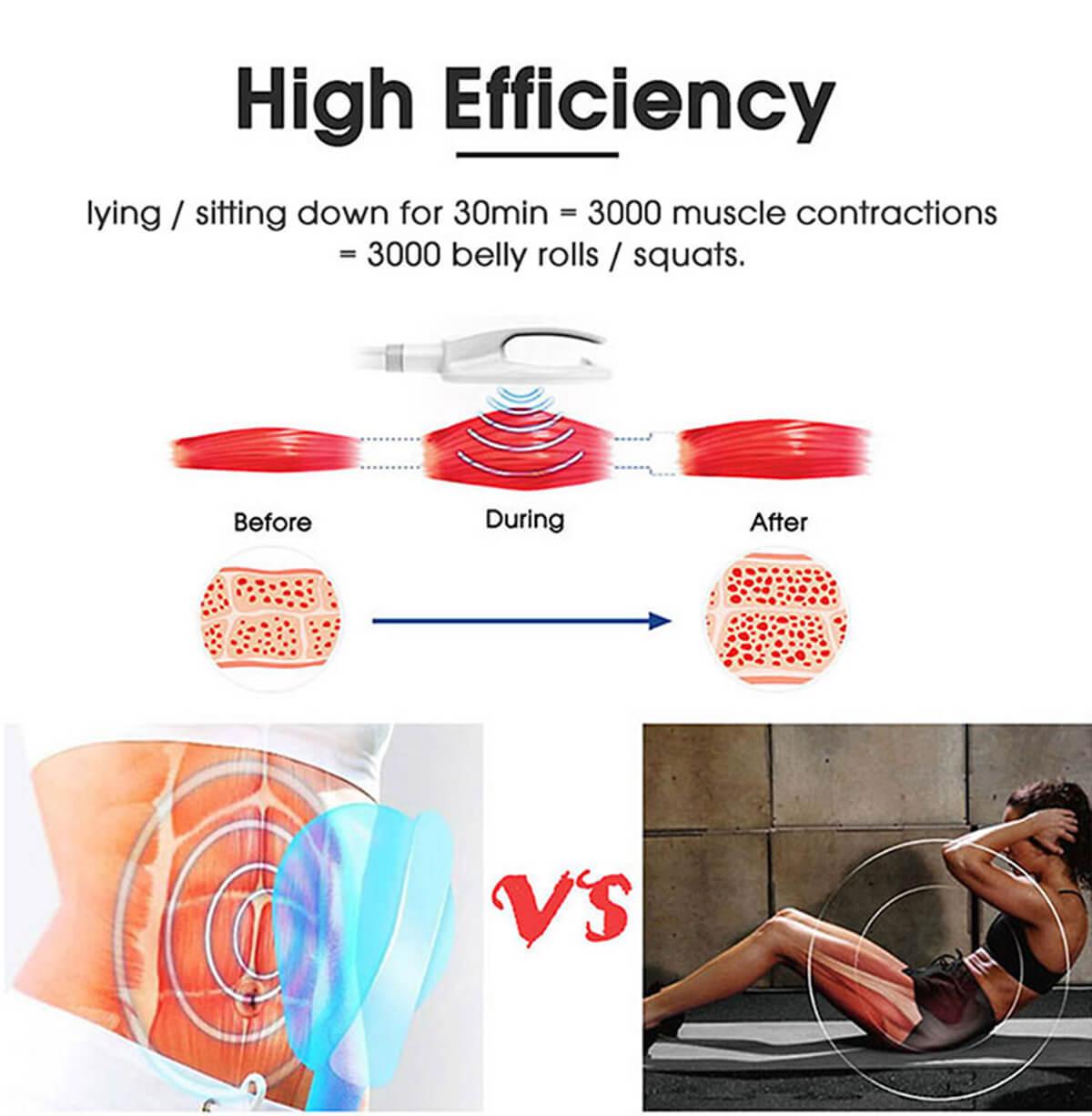 Muscle stimulation body sculpt machine 5