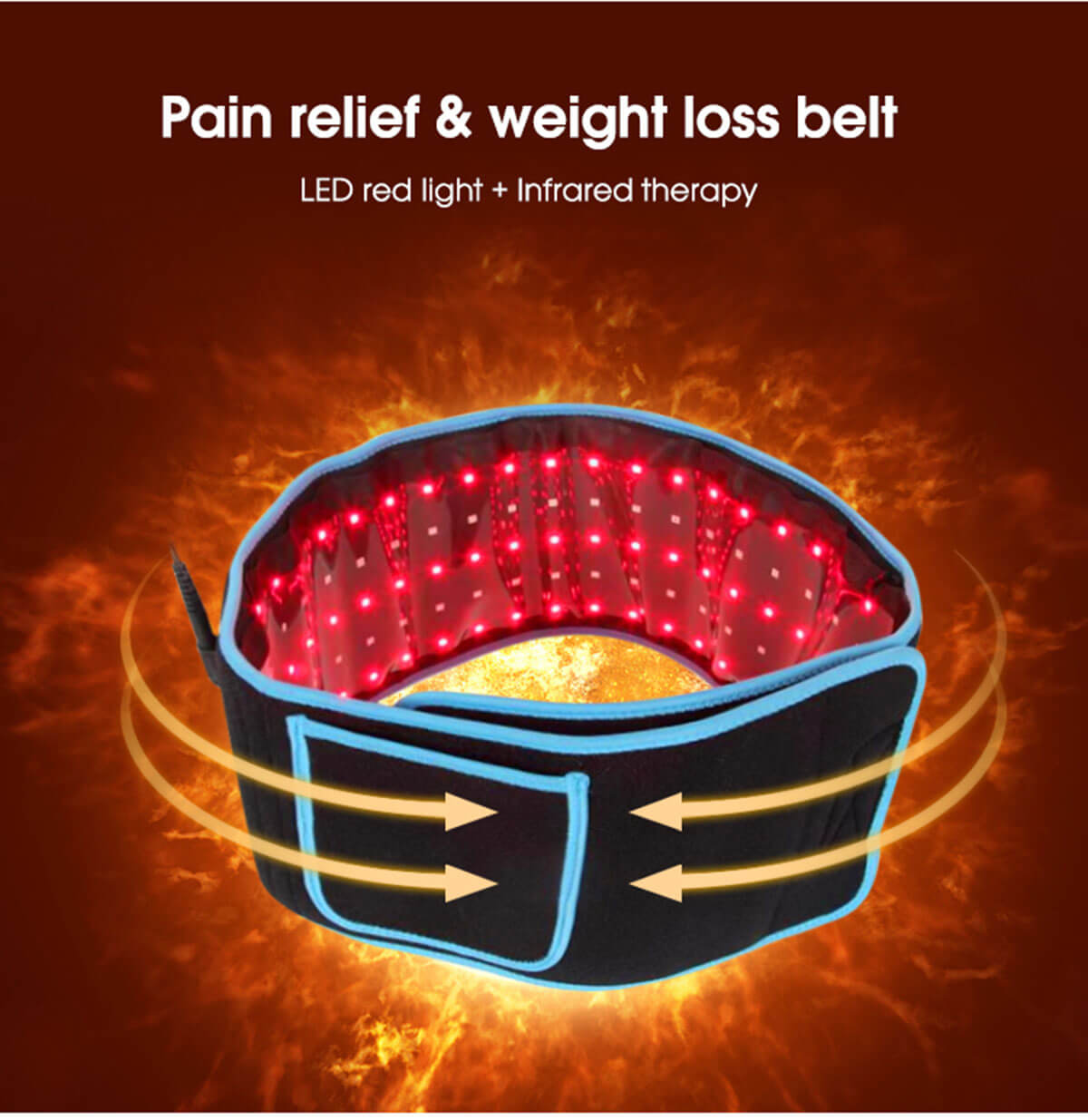 Near Infrared laser therapy belt 1