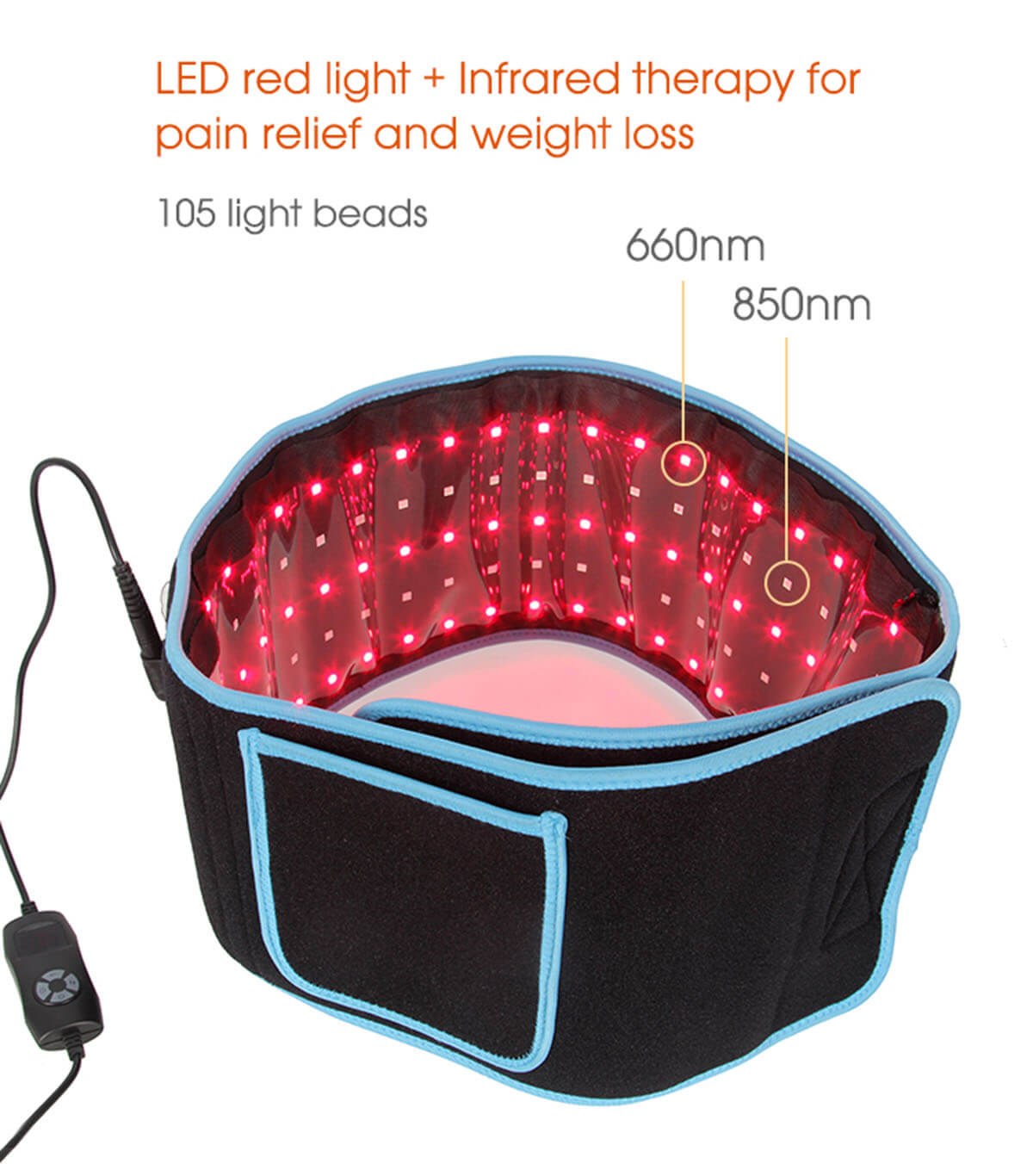 Near Infrared laser therapy belt 7