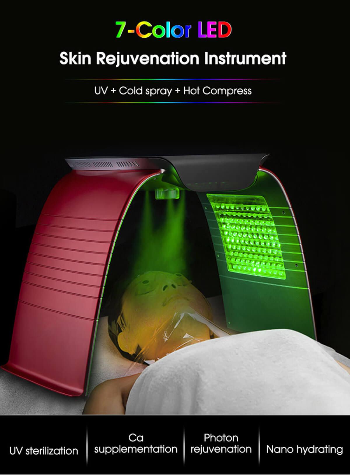 facial photodynamic therapy machine 10