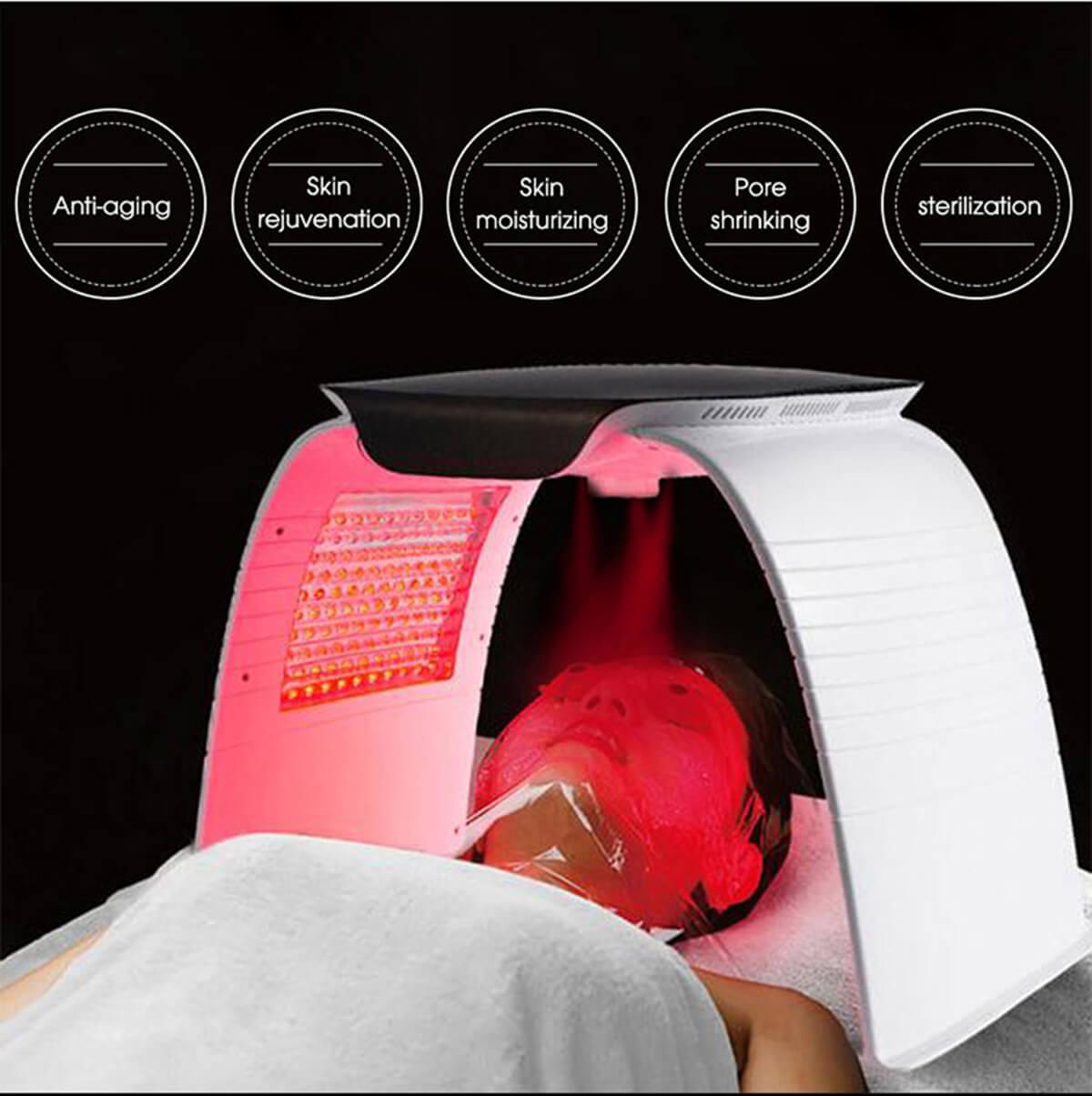 facial photodynamic therapy machine 8